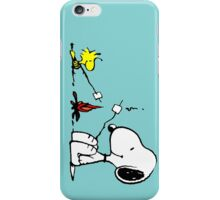 Snoopy and Woodstock Marshmallow iPhone Case/Skin