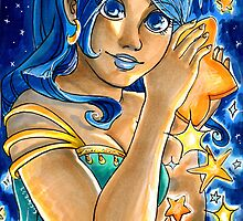 Golden Star by mtnlaurelarts