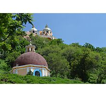 Great Pyramid of Cholula Mexico Photographic Print