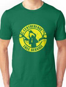 Leatherface Tree Service Unisex T-Shirt