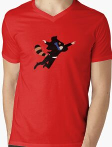 The Reichenbach Raccoon Mens V-Neck T-Shirt