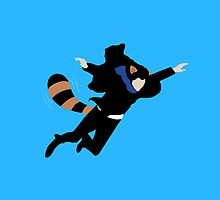 The Reichenbach Raccoon by HungryTenor
