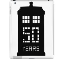 Doctor Who 50 Year iPad Case/Skin