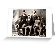 Butch Cassidy & the Wild Bunch Greeting Card