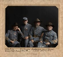 4 Confederate Veterans by Mads Madsen