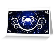 cancer in the stars Greeting Card
