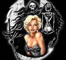 Your time has come. Joey rotten x Marilyn Monroe by joeyrottenart