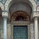 Main door Duomo Salerno 198403200006 by Fred Mitchell