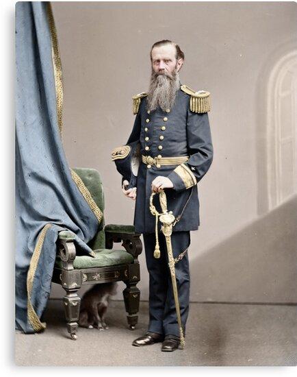 Rear-Admiral John Lorimer Worden by Mads Madsen