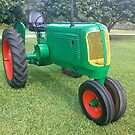 Antique Farm Tractor by ggpalms