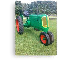 Antique Farm Tractor Canvas Print