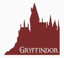 Hogwarts - Gryffindor House Sticker by lancheney007