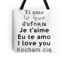 I Love You - Multiple Languages 1 Tote Bag