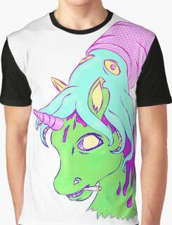 Unicorn & Squid  Graphic T-Shirt