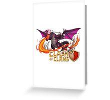 Dragon COC Greeting Card