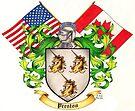 Preston Family Crest by Sheryl Unwin