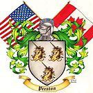Preston Family Crest by Sheryl Unwin