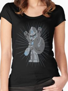 Autobot 'E' Women's Fitted Scoop T-Shirt