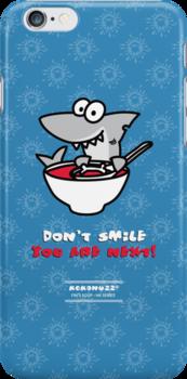 Fin's soup – Beware the shark by Kokonuzz