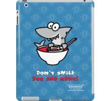 Fin's soup – Beware the shark iPad Case/Skin