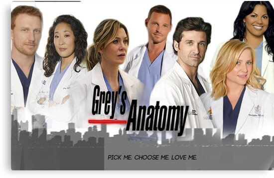 Grey's Anatomy - Most Main Characters by sdrosario1