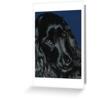 Cocker Spaniel - Woody Greeting Card