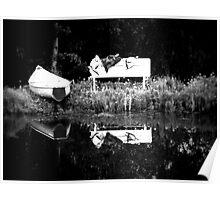 Boat - British Columbia Canada Poster
