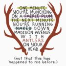 "The Mortal Instruments: ""Antlers (Don't Order Any of the Faerie Food)"" by dictionaried"