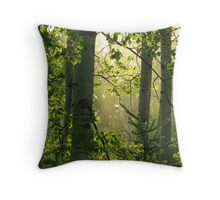Forest - British Columbia Canada Throw Pillow