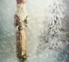 St Nicholas in the Snow by Ann Garrett