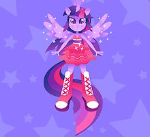 Magical girl Twilight by DisfiguredStick