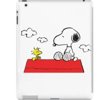 Snoopy and Woodstock Together iPad Case/Skin