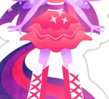 Magical girl Twilight Sparkle Sticker