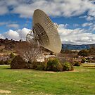 Canberra Deep Space Communication Complex  by Kym Bradley