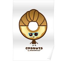 Cronuts - Fun Croissant + Doughnut Hybrids Poster