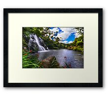 Owharoa waterfall Framed Print