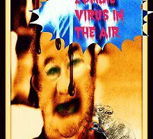 zombie virus in the air by DMEIERS