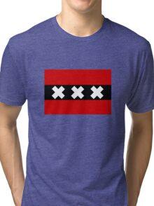 Flag of Amsterdam Tri-blend T-Shirt