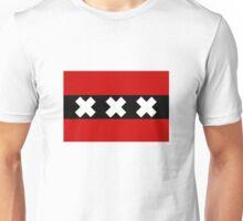 Flag of Amsterdam Unisex T-Shirt