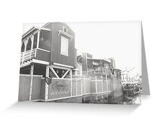 pacific wharf Greeting Card