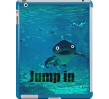 jump in iPad Case/Skin