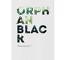 Orphan Black Photographic Print