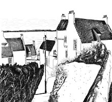Hie Gait, the Town of Dysart, Fife... in Scotland by Grant Wilson