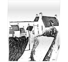 Hie Gait, the Town of Dysart, Fife... in Scotland Poster