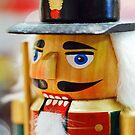 Christmas card with toy soldier by Cheryl Hall