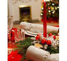 Christmas card with bon bons by Cheryl Hall