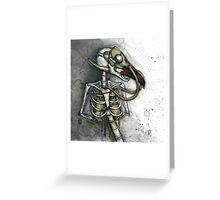 Lungbird Greeting Card