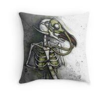 Lungbird Throw Pillow