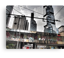 flower power in Central Hong Kong Canvas Print