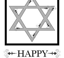 happy hannukah by maydaze